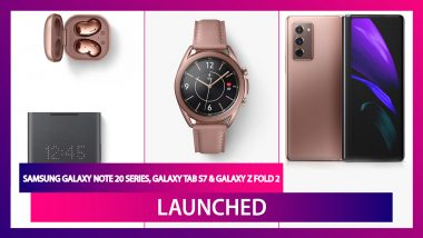 Galaxy Unpacked 2020 Event: Samsung Galaxy Note 20 Series, Galaxy Tab S7, Galaxy Z Fold 2 & More Revealed