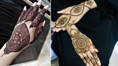 New Janmashtami 2020 Mehendi Designs: Quick Arabic, Rajasthani and Vine-Style Mehndi Patterns You Can Try for Gokulashtami