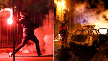 PSG Fans Riot in Streets of Paris After Club's Champions League Final Loss to Bayern Munich in Lisbon (See Photos and Videos)