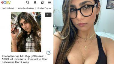 Ex-Porn Star Mia Khalifa Auctions Her 'Infamous' Glasses on eBayTo Raise Money for Lebanon's Beirut Explosion Victims