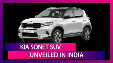 Kia Sonet World Premiere: Kia Sonet SUV Unveiled in India; Expected Prices, Features & Specs
