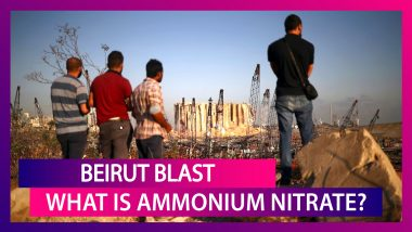 Beirut Blast: What Is Ammonium Nitrate & How Did It Cause The Massive Non-Nuclear Explosion?