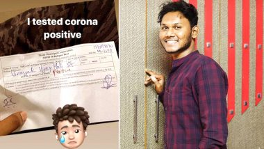 Agri Youtuber Vinayak Mali Tests Coronavirus Positive: Popular Comedian Posts an Important Message About COVID-19 on Social Media for Fans