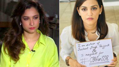 RIP Sushant Singh Rajput: Ankita Lokhande Joins Shweta Singh Kirti's Campaign of International Prayer Meet For Late Actor