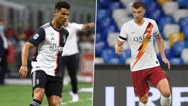 Juventus vs AS Roma, Serie A 2019–20: Cristiano Ronaldo, Edin Dzeko and Other Players to Watch Out in JUV vs ROM Football Match