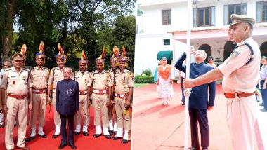 Sharmistha Mukherjee Tweets Old Pictures of Pranab Mukherjee Hoisting National Flag on Independence Day, Says, 'I'm Sure He'll Hoist The Tri-Colour Next Year'