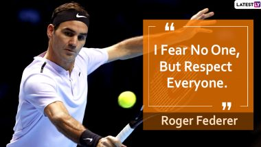 Roger Federer Quotes With HD Images: Inspirational Sayings by Tennis Swiss Maestro on Success and Life to Celebrate His 39th Birthday