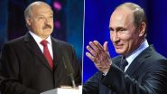 Belarus Crisis: Russia Hints at Intervention Amid Protests Over 'Rigged' Elections, Says 'Confident of Swift Resolution'