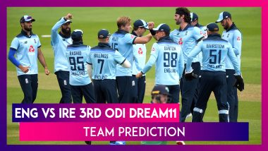England vs Ireland Dream11 Team Prediction, 3rd ODI 2020: Tips To Pick Best Playing XI