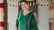 Samantha Akkineni Continues To Slay In Ethnic, Chooses a Churidar Look This Time! (View Pic)