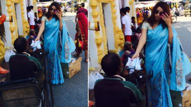 Payal Ghosh Distributes Sanitisers, Masks to the Needy Along with Indian Flags Ahead of Independence Day 2020