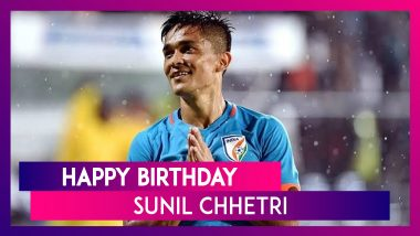 Happy Birthday Sunil Chhetri: Facts to Know About Indian Football Team Skipper