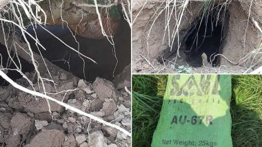 BSF Detects Tunnel Along India-Pakistan Border in Jammu And Kashmir's Samba District