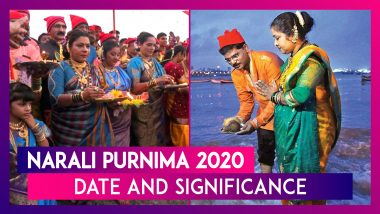 Narali Purnima 2020: Know Date, Significance and Puja Vidhi to Celebrate Coconut Day