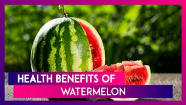 National Watermelon Day 2020 (US): Here Are Five Health Benefits of This Nutritious Fruit