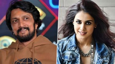 Kichcha Sudeep Extends Heartwarming Wishes to Genelia Deshmukh on Her 33rd Birthday!
