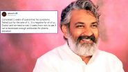 Baahubali Director SS Rajamouli and Family Test Negative For COVID-19, Actor and Family To Donate Plasma Post Recovery (View Tweet)