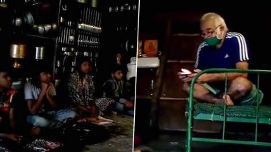 Hansal Mehta's Loving Gesture of Reading Stories for Tribal Kids Will Win Your Heart (Watch Video)