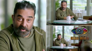 Bigg Boss Tamil Season 4 Teaser: Kamal Haasan is 'Back to Work' As He Returns to Host the Reality Show (Watch Video)