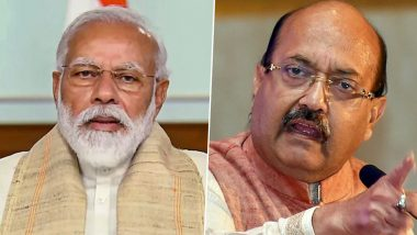 PM Narendra Modi Condoles Death of Amar Singh, Says Late Samajwadi Party Leader Was Known for His Friendships