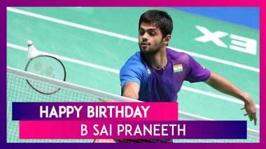 Happy Birthday B Sai Praneeth: 5 Quick Facts About The Badminton Player As He Turns 28