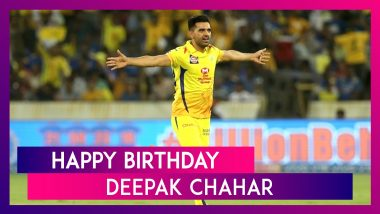 Happy Birthday Deepak Chahar: Best Performances By CSK Pacer In IPL