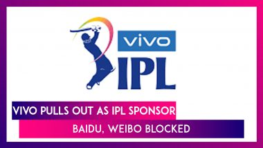 Chinese Firm VIVO Pulls Out As IPL Sponsor; India Blocks Baidu, Weibo, To Be Taken Off App Stores