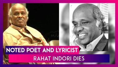 Rahat Indori, Renowned Poet, Died Due To Heart Attack, Had Tested Covid-19 Positive