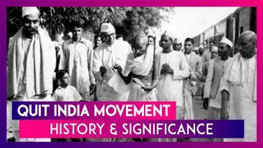 Quit India Movement: Know History and Significance of August Kranti Diwas On Its 78th Anniversary