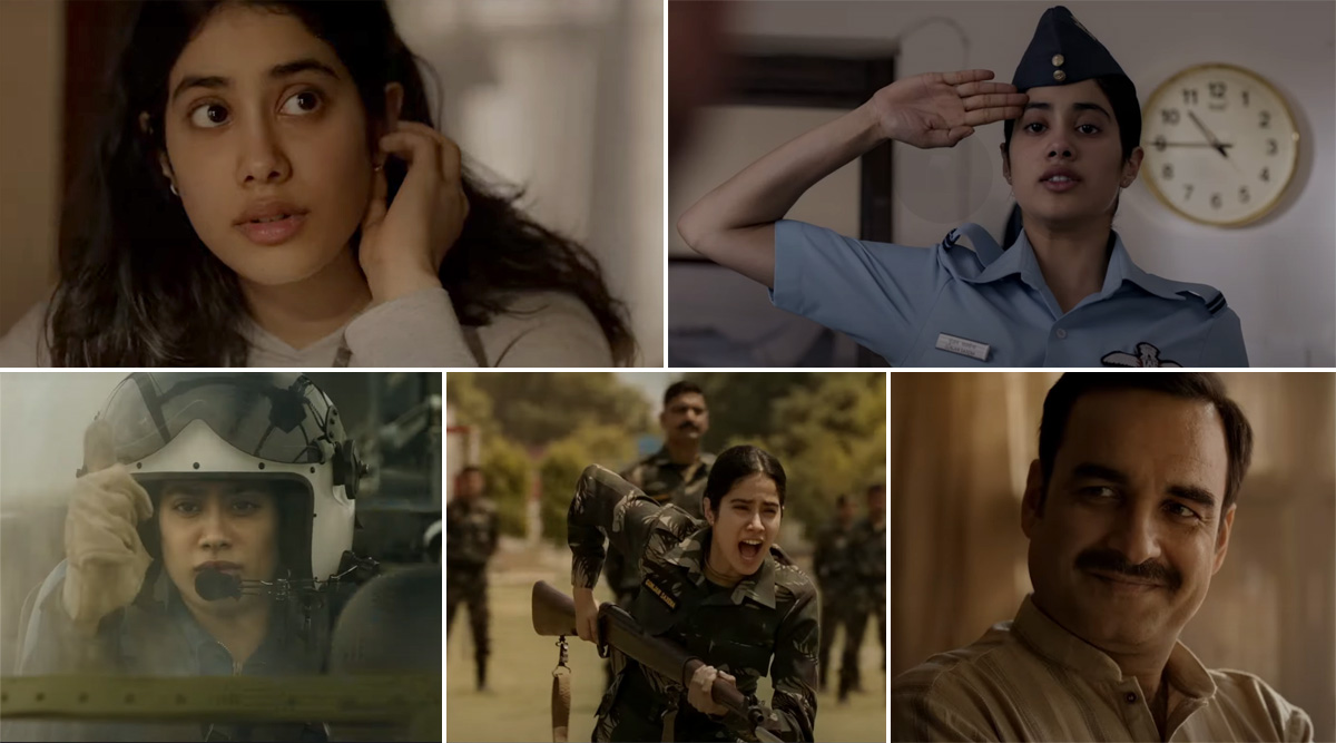 Gunjan Saxena The Kargil Girl Trailer Out Now Janhvi Kapoor Shines Bright In This Biopic That Will Invoke Patriotism In You Watch Video Latestly