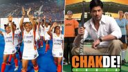 Hockey India Congratulates SRK's Chak De India On Completing 13 Years With Picture of Its Own 'Rakshaso ki Sena' (See Post)