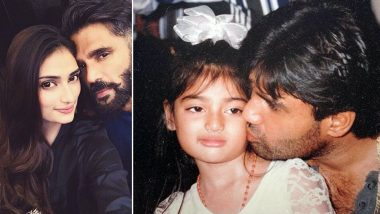 Athiya Shetty Wishes Father Suniel Shetty on His Birthday With an Adorable Post
