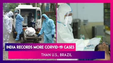 India Records Highest Number Of Daily COVID-19 Cases In The World, More Than The U.S., Brazil
