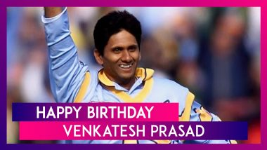 Happy Birthday Venkatesh Prasad: Top Performances By Former Indian Pacer
