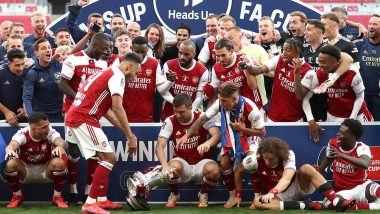 Arsenal Players Celebrate After Confirming European Football With FA Cup 2019–20 Win Over Chelsea (View Pics)