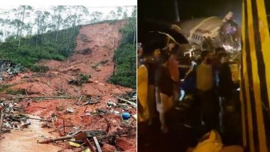Air India Express Plane Crash in Kozhikode, Landslide in Idukki; Two Tragedies in 24 Hours Leave Kerala in Mourning