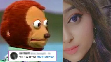 #HalfFaceTwitter Trends on Twitter as Netizens Share Their Half Face Pics! View Tweets