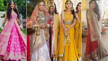 Rana Daggubati - Miheeka Bajaj Wedding: The Bride's Entire Wedding Wardrobe Should Be Bookmarked By Every Girl Out There (View Pics)