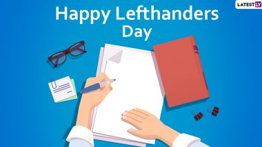 International Lefthanders Day 2020 Images, Wishes & HD Wallpapers: Greet Your Lefty Friend with These Pictures and GIFs to Make Them Feel Special