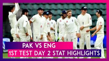 PAK vs ENG 1st Test Day 2 Stat Highlights: Shan Masood, Bowlers Shine For Visitors