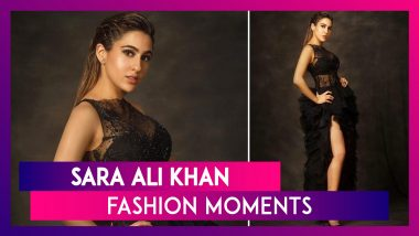 Sara Ali Khan Birthday Special: Edgy Chic Is Her Go To Comfort Style for the Red Carpet!