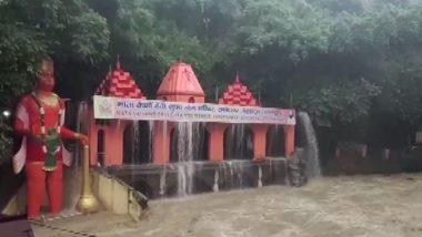 Uttarakhand Rains: Water Enters Tapkeshwar Temple in Dehradun Following Heavy Showers; See Pic