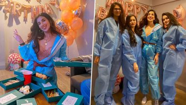 Parul Gulati's PPE Kit Themed Birthday Bash With Friends Leaves Netizens Miffed (View Pics)