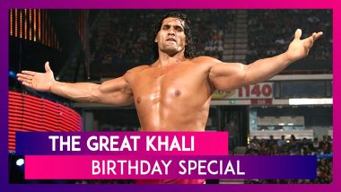 The Great Khali Birthday Special: Here Are 5 Best Matches of the Indian WWE Wrestler