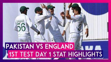 PAK vs ENG 1st Test 2020 Day 1 Stat Highlights: Babar Azam, Shan Masood Impress