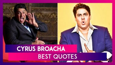 Cyrus Broacha Birthday: 12 Quotes by the Funny Man To Make You Smile