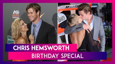 Chris Hemsworth Birthday: A look At The Actor's Wow Moments With Wife Elsa Pataky On The Red Carpet