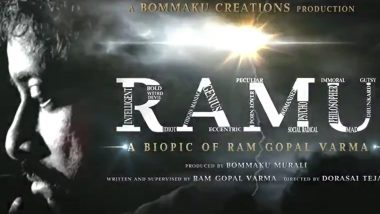 Ramu: Ram Gopal Varma Releases the Motion Poster of His Upcoming Biopic (Watch Video)