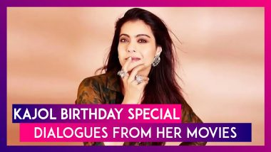 Kajol Birthday Special Let's Have A Look At Popular And Relevant Dialogues From Her Movies