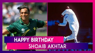 Happy Birthday Shoaib Akhtar: Top Performances By The Rawalpindi Express